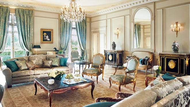 Paris debuted on the Forbes Five-Star list with nine hotels, including Le Meurice.