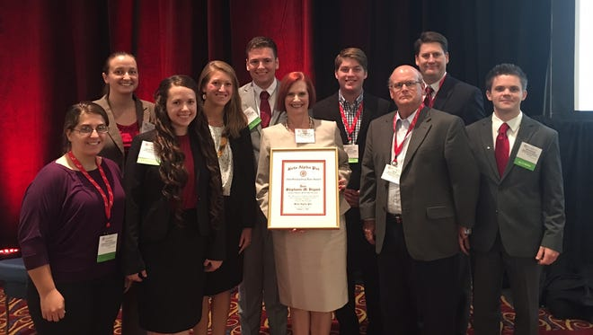 Several students from Missouri State University's Beta Alpha Psi student chapter competed and were honored at the International Meeting and Best Practices competition.