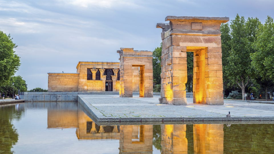 Madrid: Templo de Debod is an authentic Egyptian temple