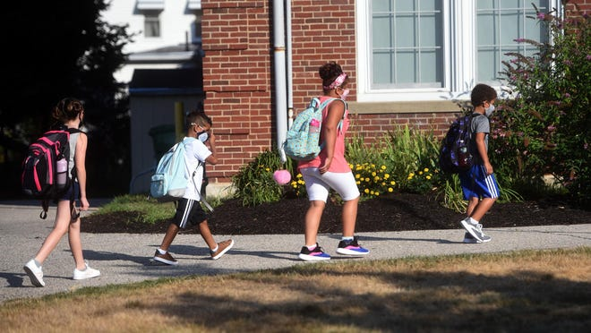 Maple Street Magnet School students resumed in-person instruction in August. Now all Rochester schools are going to remote learning.