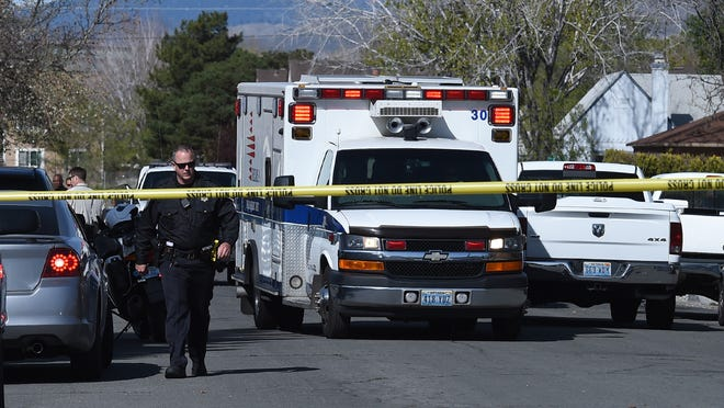 Officers reponded to a report of a shooting on Monday, April 6, 2015, on the 1900 block of H Street in Sparks.