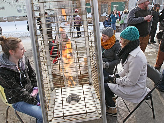 Mitten Fest, the annual winter street party, is set
