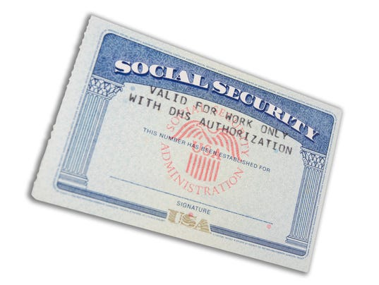 How social security survivors benefits work for Make a social security card template