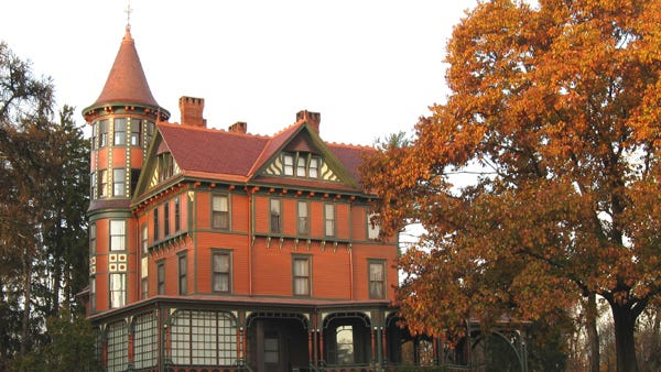 Wilderstein Historic Site is hosting a fall foliage tea this weekend.