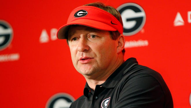 Georgia coach Kirby Smart