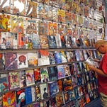 Samurai Comics, one of the biggest comic-book chains in the state, recently moved to a larger location at 6808 N. Dysart Road, Suite 148, to be able to accomodate its nightly gaming events.