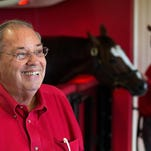 Ken Ramsey scored a lopsided victory during Churchill Downs' spring meet.