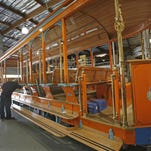 This Lawmakers have sent bills to Gov. Rick Snyder that would make drinks an option on so-called quadricycles. trolley from TIG/m Modern Street Railways in Chatsworth, Calif., will be shipped to Aruba when completed.
