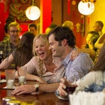 """Amy Schumer as Amy and Bill Hader as Aaron on a date in """"Trainwreck,"""" the new comedy from director/producer Judd Apatow."""