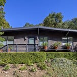 Mia Maestro has listed her chic cottage for sale in the Beverly Crest area of Los Angeles. (Brian Thomas Jones/Los Angeles Times/TNS)