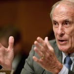 Sen. Dan Coats, R-Indiana, questions the proposed nuclear arms deal with Iran.