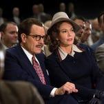 "Bryan Cranston is Dalton Trumbo, and Diane Lane is his wife, Cleo, in ""Trumbo."""