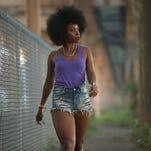 "Teyonah Parris as Lysistrata in Spike Lee's film, ""Chi-Raq."""