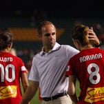 Former Flash head coach Aaran Lines