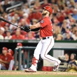 Bryce Harper of the Washington Nationals will be back in Brevard to train.