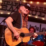 Willie Nelson performs at the Heartbreaker Banquet on Thursday, March 19, 2015, in Spicewood, TX. (Photo by Rich Fury/Invision/AP)