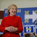 25 photos: Hillary Clinton speaks in Marion and North Liberty