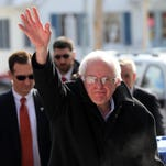 Getty ImagesDemocratic presidential candidate Senator Bernie Sanders (D-VT) walks through downtown Concord on election day on Feb. 9, 2016 in Concord, New Hampshire. Sanders greeted voters before taking a short walk where he was mobbed by members of the media. CONCORD, NH - FEBRUARY 09: Democratic presidential candidate Senator Bernie Sanders (D-VT) walks through downtown Concord on election day on February 9, 2016 in Concord, New Hampshire. Sanders, who is expected to win over Democratic rival Hillary Clinton, greeted voters before taking a short walk where he was mobbed by members of the media. (Photo by Spencer Platt/Getty Images) *** BESTPIX ***