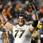 Missouri offensive lineman Evan Boehm was selected in the fourth round of the NFL draft by the Arizona Cardinals.