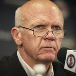 Minnesota Twins general manager Terry Ryan attends a news conference Sept. 29, 2014, at Target Field in Minneapolis.