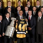 Pittsburgh Penguins visit the White House