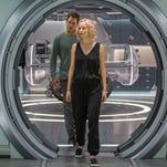 Fun with 'Passengers' stars Lawrence, Pratt