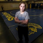 M-E girl finds respect, success on the wrestling mat