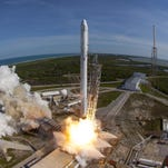 Updates: SpaceX successfully launches from Cape Canaveral, nails the landing