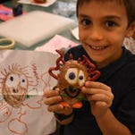 Little monsters: Elementary students see their creations come to life