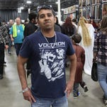 The T-shirts of Motor City Comic Con