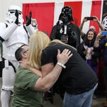 Star Wars-themed proposal at 2017 Motor City Comic Con