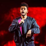 The Weeknd brings interstellar R&B-pop pageantry to the Palace