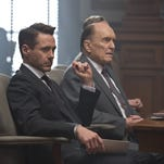 "Robert Downey Jr. and Robert Duvall in ""The Judge."""
