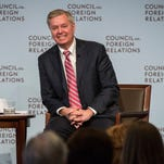 U.S. Sen. Lindsey Graham (R-SC) speaks at the Council On Foreign Relations on March 23, 2015 in New York City. Graham spoke extensively on U.S. relations with Iran and the ongoing nuclear deal being brokered.