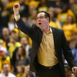 ST. LOUIS, MO - MARCH 7: Head coach Gregg Marshall of the Wichita State Shockers directs his team against the Illinois State Redbirds during the MVC Basketball Tournament Semifinals at the Scottrade Center on March 7, 2015 in St. Louis, Missouri. (Photo by Dilip Vishwanat/Getty Images)