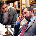 """Kris Wente and David Compton, right, star in """"Roger's Version"""" at Blackbird Theater."""
