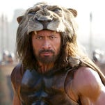 "Dwayne Johnson stars in ""Hercules."""