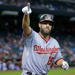 Former Phillies utilityman Kevin Frandsen has been put on unconditional release waivers by the Washington Nationals.
