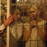 """In this image released by A24 Films, Ben Stiller, left, and Naomi Watts appear in a scene from """"While We're Young."""""""