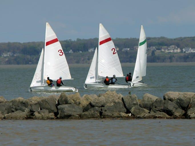 Sailboats at Charlotte.