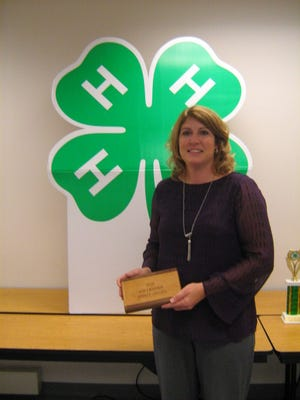 Tracey Kreider, 4-H Friends leader, was awarded the 2016 4-H Volunteer Spirit Award for her dedication and support of the Lebanon County 4-H Program.