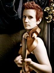 Violinist Aisslinn Nosky