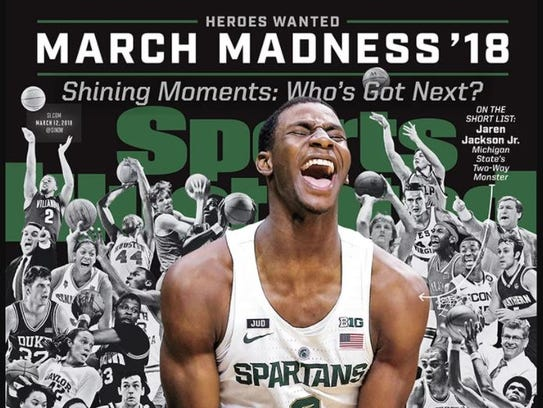 Michigan State freshman Jaren Jackson Jr. (along with