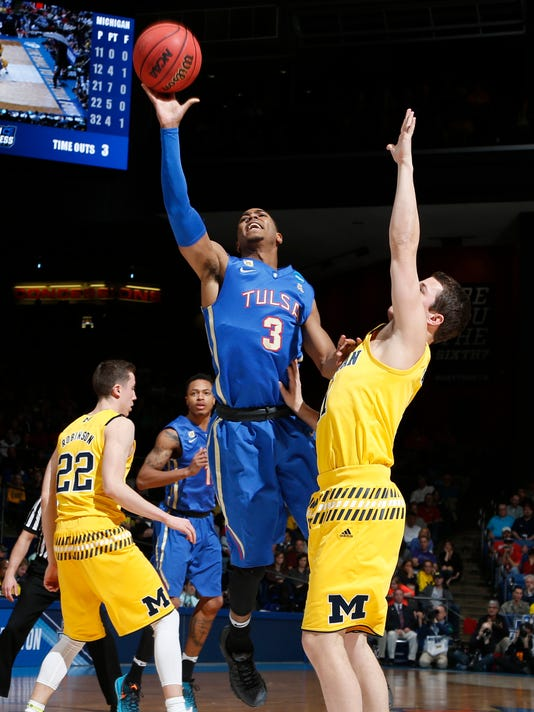 NCAA Basketball: NCAA Tournament-First Four-Michigan vs Tulsa