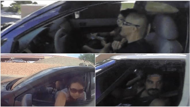 Las Cruces Crime Stoppers is offering a reward of up to $1,000 for information that helps identify four people wanted for questioning in a forgery case.