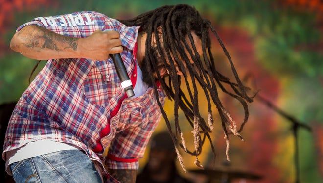 Ky-Mani Marley performs during Reggae on the Mountain in Topanga, California, last year.