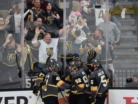 USP NHL: STANLEY CUP FINAL-WASHINGTON CAPITALS AT S HKN VGK WSH USA NV