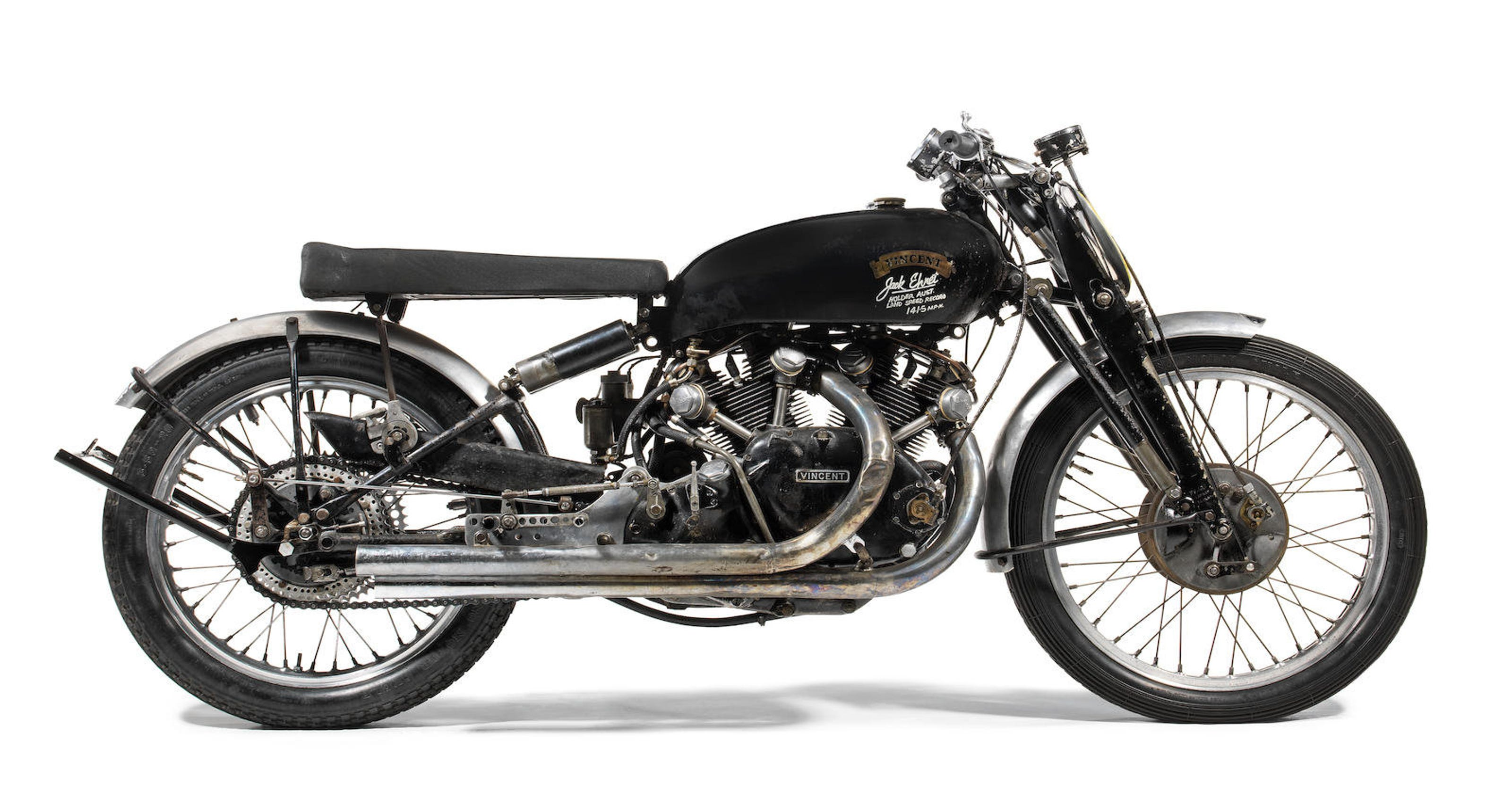 Motorcycle White Motorcycle Cars: Classic Motorcycle Values Soar, Vincent Black Lightning Leads