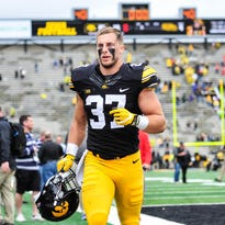 Leistikow: An Iowa football player confronts darkness, finds road to redemption