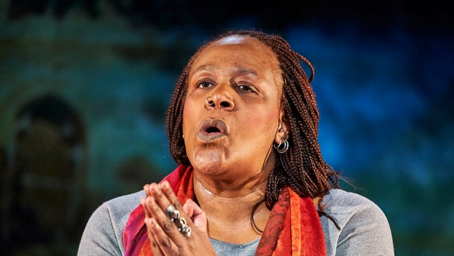 "In ""Until the Flood,"" Dael Orlandersmith portrays multiple characters affected by the shooting death of Michael Brown in Ferguson, Mo., and the unrest that followed. She is opening a new production of the drama at the Milwaukee Repertory Theater."